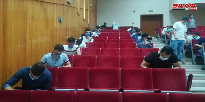About 600 thousand university students start taking second term exams