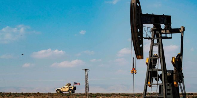 A company of thieves run by Washington to steal Syrian oil