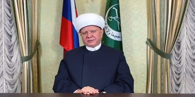 Russian Mufti condemns terrorists' crimes in Syria