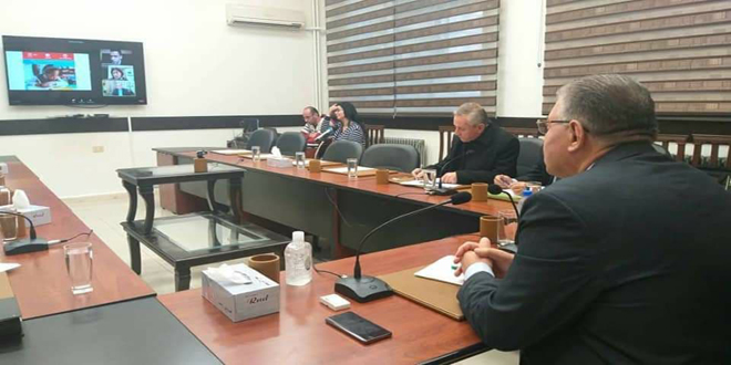 Syria participates in UNESCO virtual meeting on learningassessmentsandschool reopening
