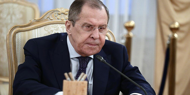 Lavrov: The West adopts double standards towards Syria in light of Corona pandemic