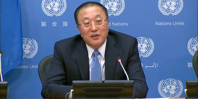China calls for cancelling western unilateral coercive measures against Syria