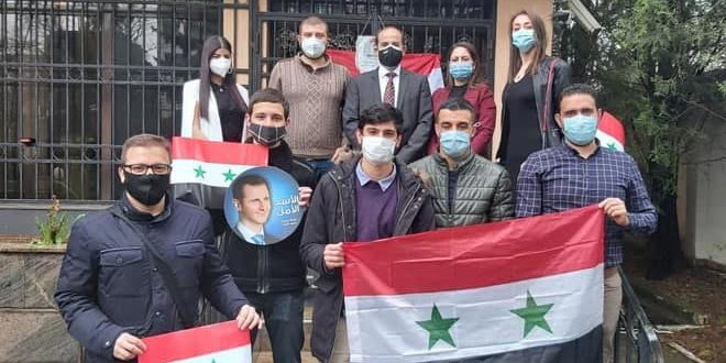 Syrian Students in Bulgaria reiterate standing by their homeland in face of terrorism