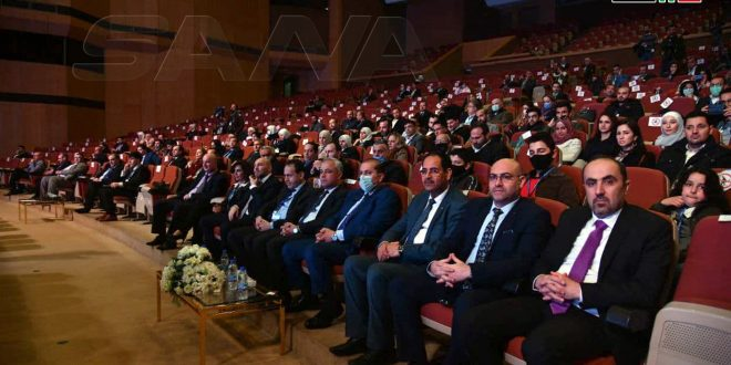 Digital Transformation Conference recommends breaking blockade imposed on Syria