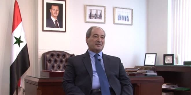 Mikdad: Syria has proven ability to foil plots against it