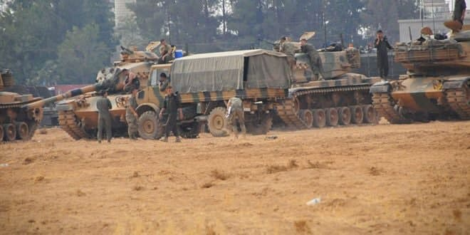 Turkish occupation brings in military reinforcements to support its mercenaries in Hasaka countryside