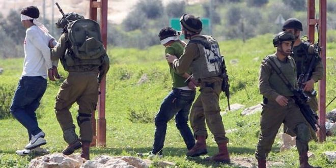 Israeli forces arrest 18 Palestinians in the West Bank