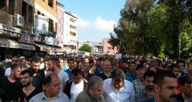 manifestacion en Adana