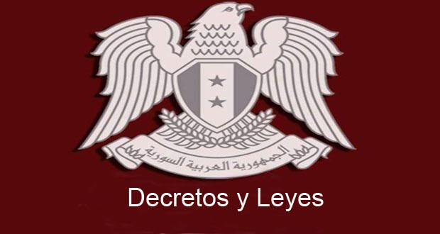decretos y leyes
