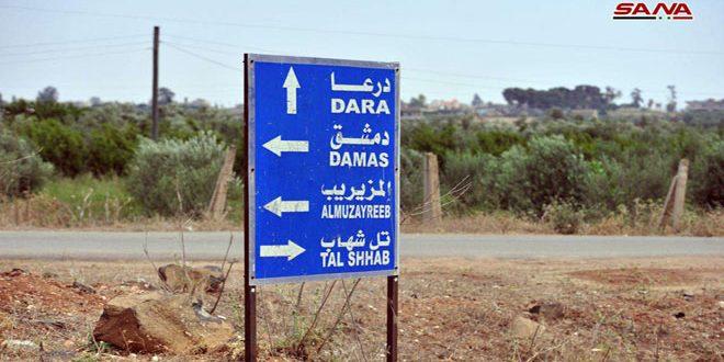 Pueblos y ciudades del campo occidental de Daraa vuelven a la vida normal (Fotoreportaje)