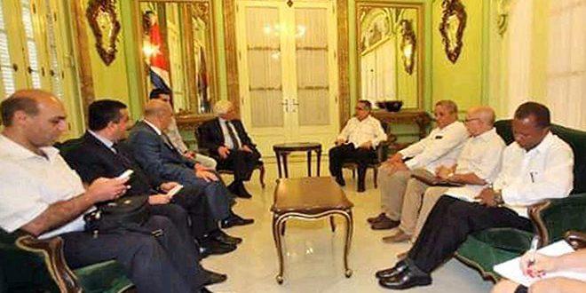 Cuba: Seguiremos prestando apoyo a Siria en su lucha contra el terrorismo