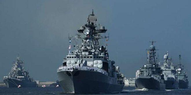 Armada rusa lleva a cabo maniobras en el Mediterráneo oriental