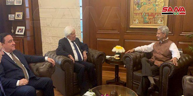 La India expresa disposición a contribuir en la reconstrucción de Siria