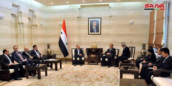 Siria y RPDC examinan impulsar la cooperación en campos de la economía y la reconstrucción