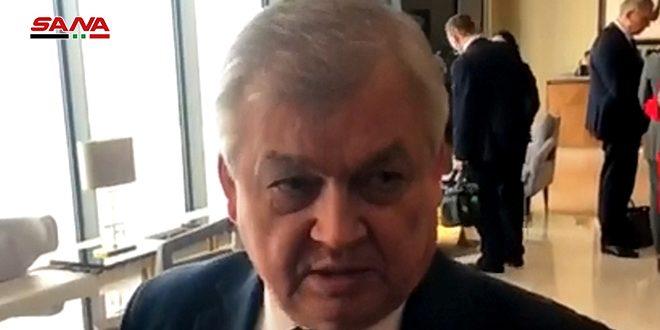 Lavrenviev: los participantes en la ronda de Astaná abordarán la presencia ilegal estadounidense en Siria
