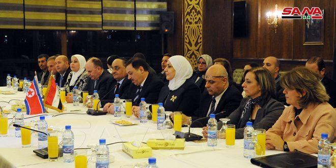 Siria y RPDC firman tres documentos para la cooperación bilateral