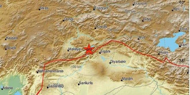 Fuerte terremoto en Turquía, el cual se sintió en la mayor parte del territorio sirio