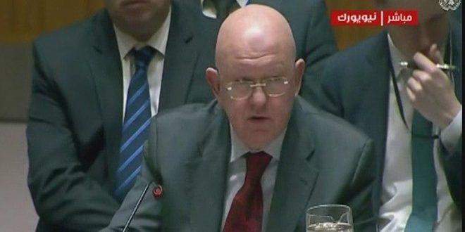 Nebenizia: Hay que levantar medidas coercitivas impuestas a Siria