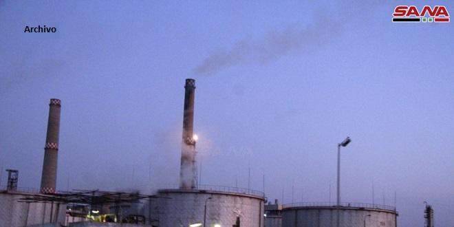 Incendio en refinería de Banias causa lesiones a cuatro trabajadores