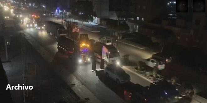 Washington ingresa en Siria nuevo convoy de materiales logísticos