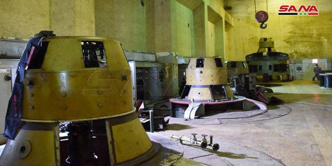 Reponen en funcionamiento planta de bombeo capaz de regar seis mil hectáreas de tierra en Alepo