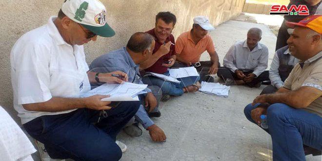 Empleados de la Empresa de Electricidad protestan contra la ocupación de su centro de trabajo por la milicia FDS