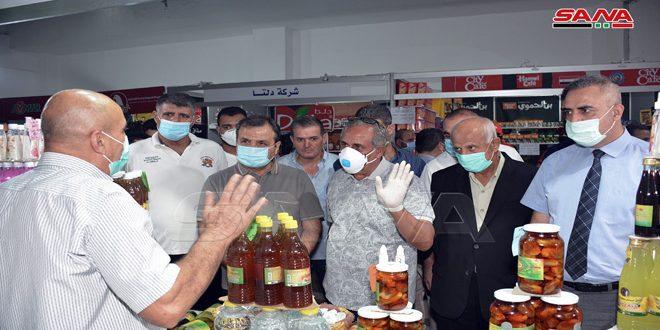 """Unas 100 empresas participan en el Festival de Compras mensual """"Hecho en Siria"""""""