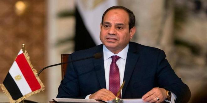 Presidente egipcio: una solución política en Siria debe preservar su unidad y sus instituciones y garantice la erradicación del terrorismo