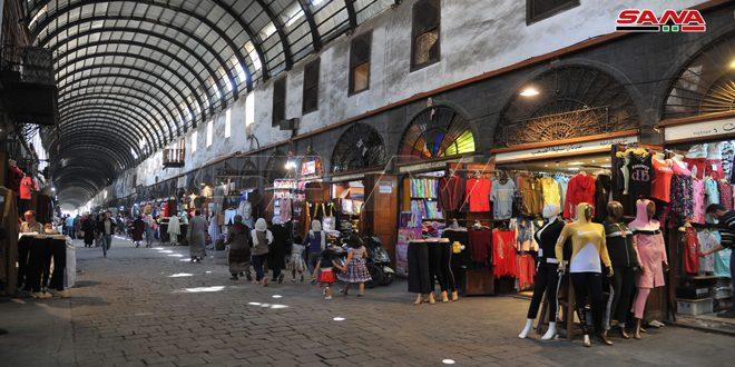 Renacen los zocos, antiguos mercados árabes en Siria