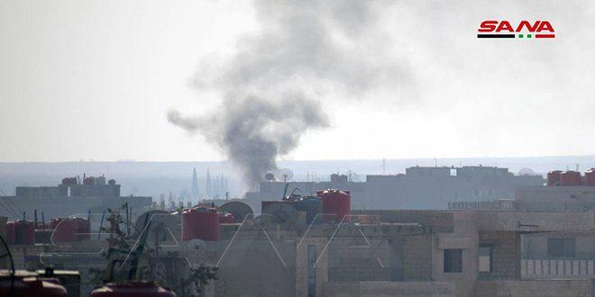 Agresión turca provoca corte de electricidad de la principal planta de agua potable en Hasakeh