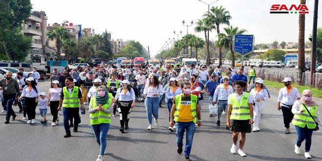 Maratón en jornada de lucha contra el cáncer de mama