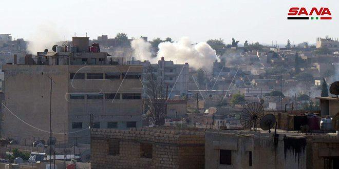 El ocupante turco reanuda sus bombardeos contra la localidad de Ain Isaa, Raqa
