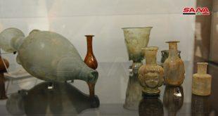 Exhibición de piezas arqueológicas recuperadas