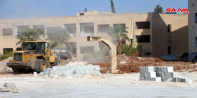 Concluyen reconstrucción de 147 escuelas afectadas por el terrorismo en Deraa
