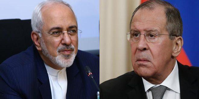Lavrov y Zarif abordan en Moscú la crisis siria