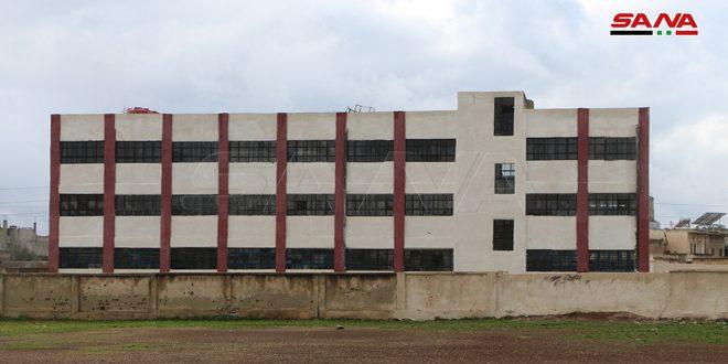 19 escuelas reconstruidas reabren sus puertas en provincia de Deraa