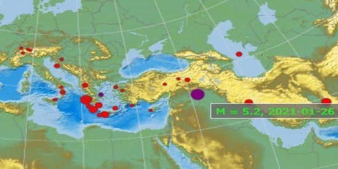 Un sismo de 5.2 grados sacude los montes de Sinjar en la frontera sirio-iraquí