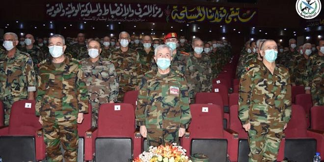 Siria egresa nueva promoción de oficiales de Academia Militar Superior