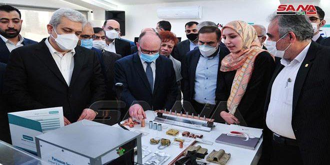 Irán inaugura centro de tecnología en Damasco