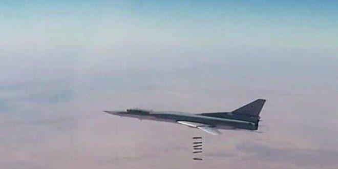 Eliminados 200 terroristas en ataques aéreos rusos contra cuarteles terroristas cerca de Palmira, Siria