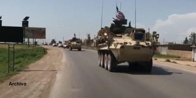 Ocupante estadounidense traslada material logístico y militar desde Iraq a una base ilegal en Hasakeh