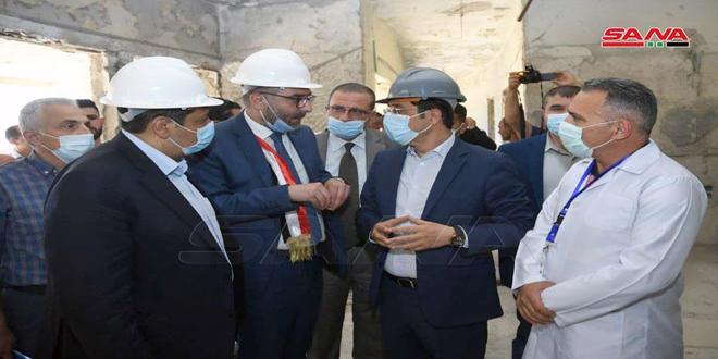 Lanzan importantes proyectos de salud en Alepo (+ fotos)