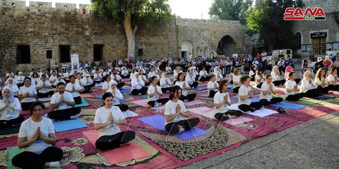 Jornadas de Yoga en Siria por la paz y la salud