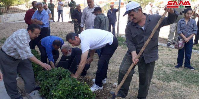 Damasco en jornada de trabajo voluntario por tercer viernes consecutivo (+ fotos)