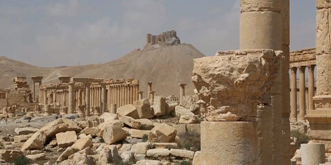 Misión ruso-siria para restaurar los antiguos sitios arqueológicos en Siria