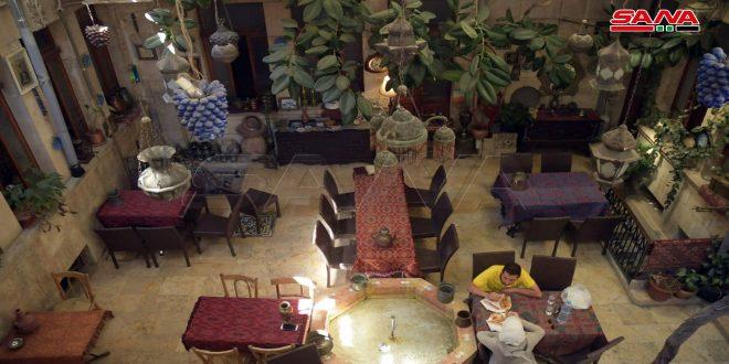 Dar Halabia, antigua casa convertida en hotel  patrimonial en Alepo (+fotos)