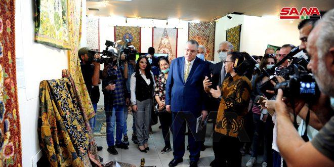 Celebran en Siria el arte tradicional indonesio de Batik