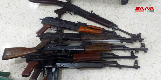 Centro de reconciliación en al-Hark sigue recibiendo a los armados que deponen sus armas