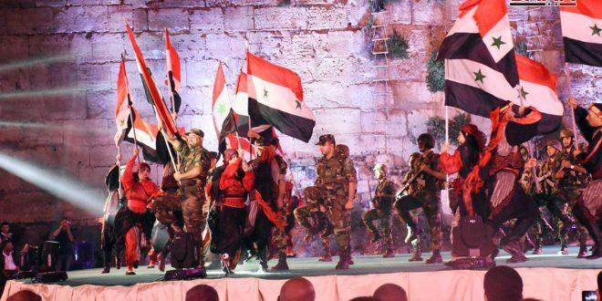 افتتاح جشنواره (قلعه و ودادی) درحمص