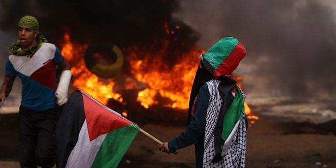 شهادت یک شهروند فلسطینی در شرق غزه